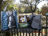 Totes made from Feed Bag and Coffee Bag in Eglin AFB, Florida