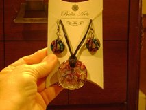 """Bella Arte"" Necklace & Earring Set -- New Original Packaging in Houston, Texas"