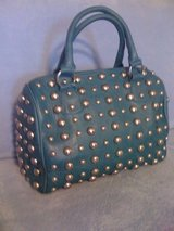 New,Gorgeous,Teal Leather&Studs Purse in Leesville, Louisiana