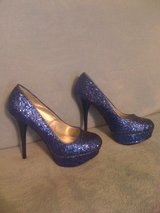 REDUCED!New,sz.8,Super Sexy,Royal Blue,Sparkly Pumps in Leesville, Louisiana